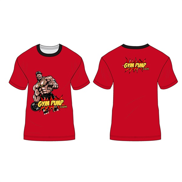 T-Shirt (red, M)