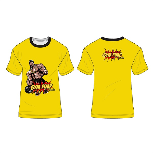 T-Shirt (yellow, M)