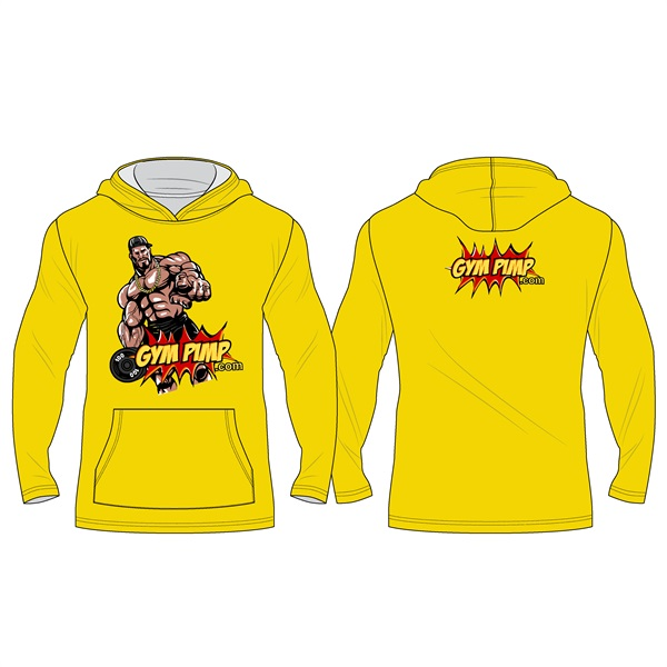 Hoodie (yellow, XL)
